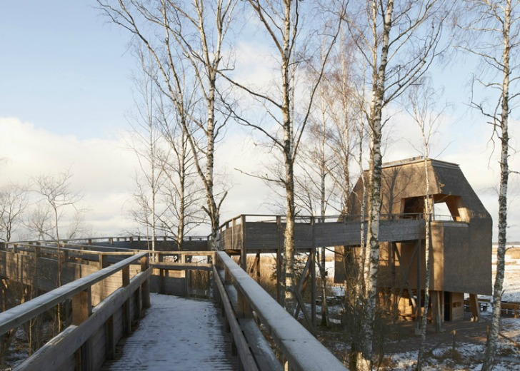 Centrul Takern5 - Centrul Takern, casa pentru 100 specii de pasari