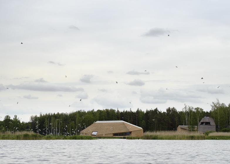 Centrul Takern7 - Centrul Takern, casa pentru 100 specii de pasari