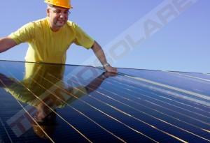 Pompa de caldura cu sistem solar - Panouri solare