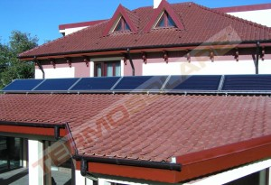 Panouri solare plane cu aport la incalzire - Panouri solare