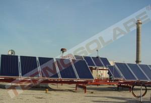 Sistem solar ACM industrial - Panouri solare