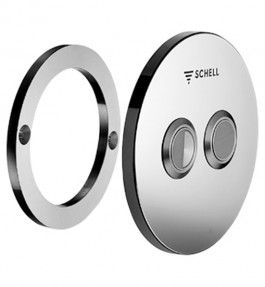 Placa actionare WC SCHELL VERONA E - Robinete cu senzor electronic cu montare in perete pentru spalare WC