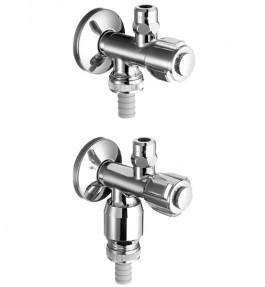 Robinet coltar SCHELL COMFORT cu doua racorduri - 12.Robinete combinate cu racord pentru aparate