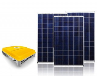 Exiom foto kit 4 - Sisteme fotovoltaice