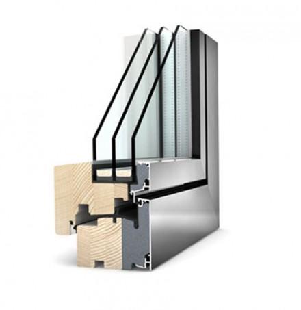 Ferestre Internorm® din lemn cu invelis exterior din aluminiu - Studio - Ferestre Studio