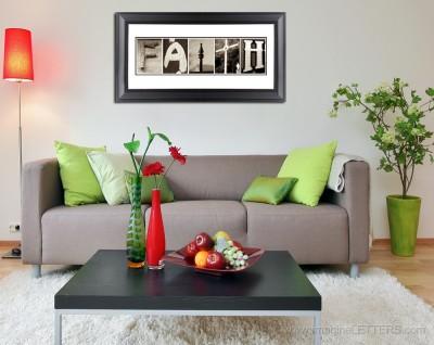 Foto via www.imagineletters.com - Interioare cu un design bazat pe combinatia rosu cu verde