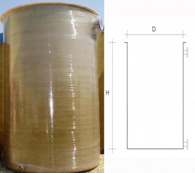 Rezervor fund plan deschis - Rezervoare supraterane verticale