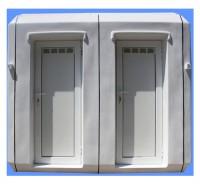 Cabina 1527 cu doua toalete individuale - Cabine