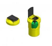 Accesorii containere tip bidon - Containere pentru deseuri