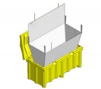 Container pentru tuburi fluorescente - Containere pentru deseuri