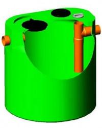 Separator de grasimi, amidon si particule inerte CROMADEG - Separatoare de grasimi