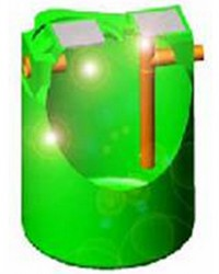 Separator de grasimi, amidon si particule inerte SUPER STARS DEG - Separatoare de grasimi