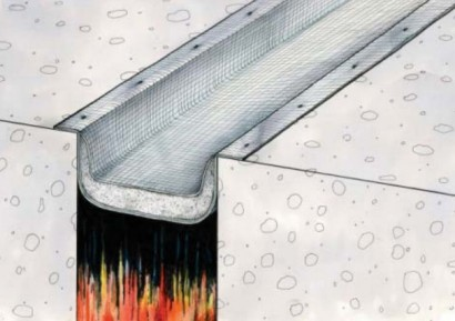 Protectie la foc pentru rosturi in pardoseli - Profile de dilatatie pentru pardoseli pereti rezistente la