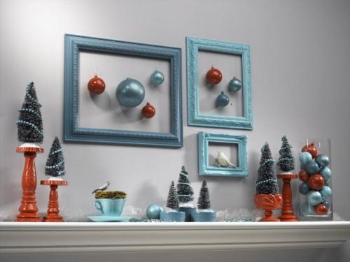 Pana si amintirile din concediul de vara pot fi transformate in motive de iarna (foto via kathypeterson.com) - Amenajari festive, de la camere decorate in intregime, pana la detalii care dau nota de sarbatoare
