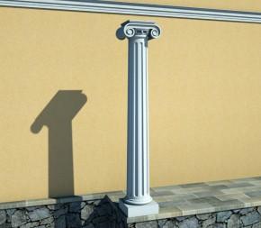Coloana decorativa varianta ionica - Coloane, baze si capiteli
