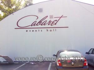 Cabaret - Litere volumetrice din polistiren