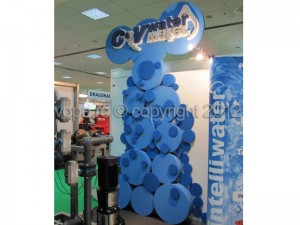 RomTherm, stand expozitional C&V - Forme, obiecte, litere volumetrice din polistiren 3D