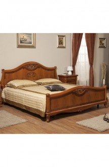 Pat lemn masiv Afrodita - Mobila dormitor lemn masiv Afrodita