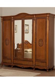 Dulap lemn masiv Afrodita - Mobila dormitor lemn masiv Afrodita