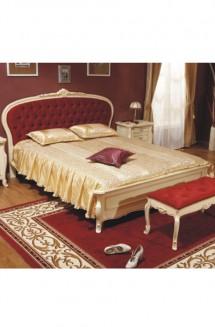 Pat lemn masiv Arcad - Mobila dormitor lemn masiv Arcad