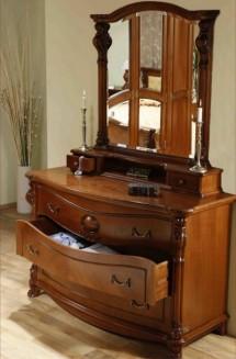 Comoda - rama oglinda lemn masiv Elysee - Mobila dormitor lemn masiv Elysee