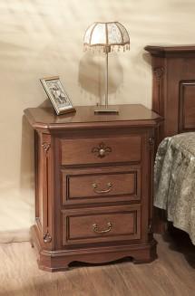 Noptiera lemn masiv Gino - Mobila dormitor lemn masiv Gino