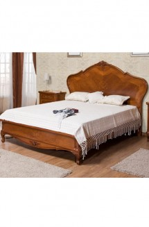 Pat lemn masiv Giulia - Mobila dormitor lemn masiv Giulia