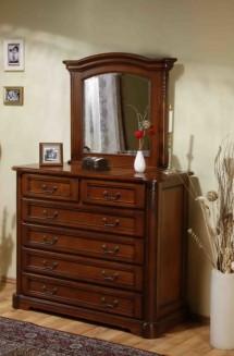 Comoda - rama oglinda lemn masiv Rafael - Mobila dormitor lemn masiv Rafael