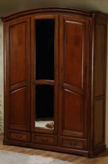 Dulap 3 usi lemn masiv Rafael - Mobila dormitor lemn masiv Rafael