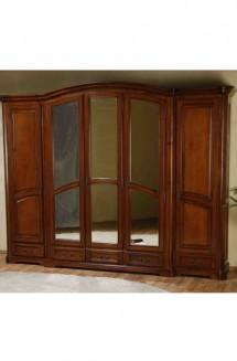 Dulap 5 usi lemn masiv Rafael  - Mobila dormitor lemn masiv Rafael