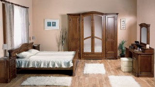 Dormitor lemn masiv Rafael - Mobila dormitor Rafael