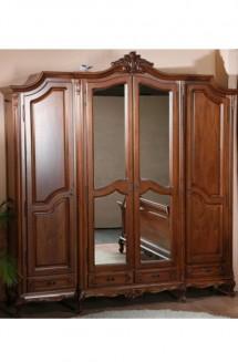 Dulap 4 usi lemn masiv Royal - Mobila dormitor lemn masiv Royal
