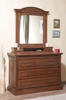 Comoda - rama oglinda lemn masiv Venetia - Mobila dormitor lemn masiv Venetia