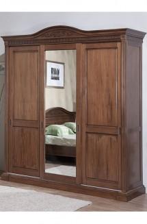 Dulap 3 usi glisant lemn masiv Venetia - Mobila dormitor lemn masiv Venetia