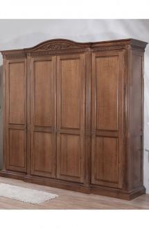 Dulap 4 usi lemn masiv Venetia - Mobila dormitor lemn masiv Venetia