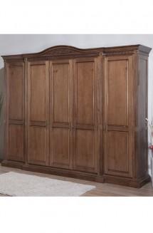 Dulap 5 usi lemn masiv Venetia - Mobila dormitor lemn masiv Venetia