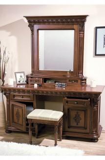 Toaleta - rama oglinda lemn masiv Venetia Lux - Mobila dormitor lemn masiv Venetia Lux