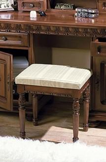 Taburet lemn masiv Venetia Lux - Mobila dormitor lemn masiv Venetia Lux
