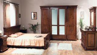 Dormitor lemn masiv Venetia Lux - Mobila dormitor Venetia Lux