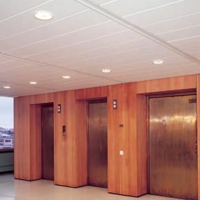 Plafoane lamelare pentru coridoare 1 - Plafoane lamelare pentru coridoare Rigips