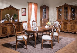Mobila sufragerie Cleopatra - Mobila sufragerie lemn masiv Cleopatra