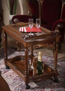 Masuta de servit lemn masiv Royal - Mobila sufragerie lemn masiv Royal