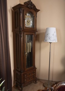 Carcasa ceas lemn masiv Royal - Mobila sufragerie lemn masiv Royal