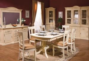 Mobila sufragerie lemn masiv Venetia - Mobila sufragerie lemn masiv Venetia