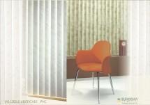 Jaluzele verticale cu lamele PVC - Jaluzele verticale