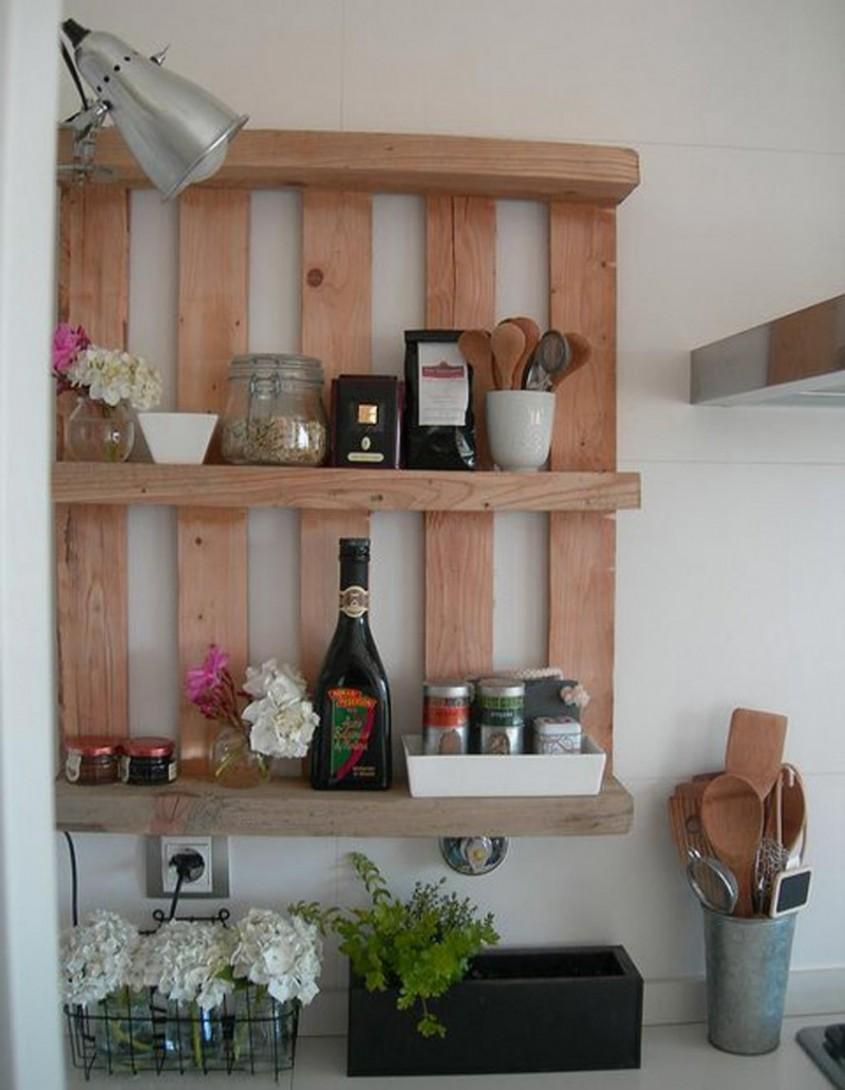 Foto via tophomeideas.com - Nu exista limite in posibilitatile de refolosire a paletilor din lemn