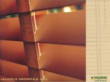 Jaluzele orizontale cu lamele din lemn - Jaluzele orizontale