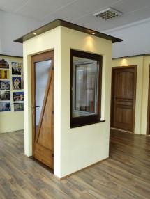 Ferestra si usa exterioara din lemn stratificat - Ferestre din lemn