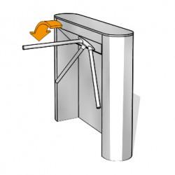 Bariera tripod - Kaba Kerberos TPB-C01 - Bariere tripod - KABA