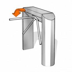 Bariera tripod - Kaba Kerberos TPB-C02 - Bariere tripod - KABA